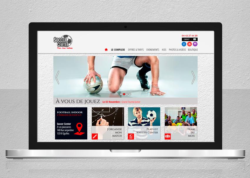 Soccer Center Homepage